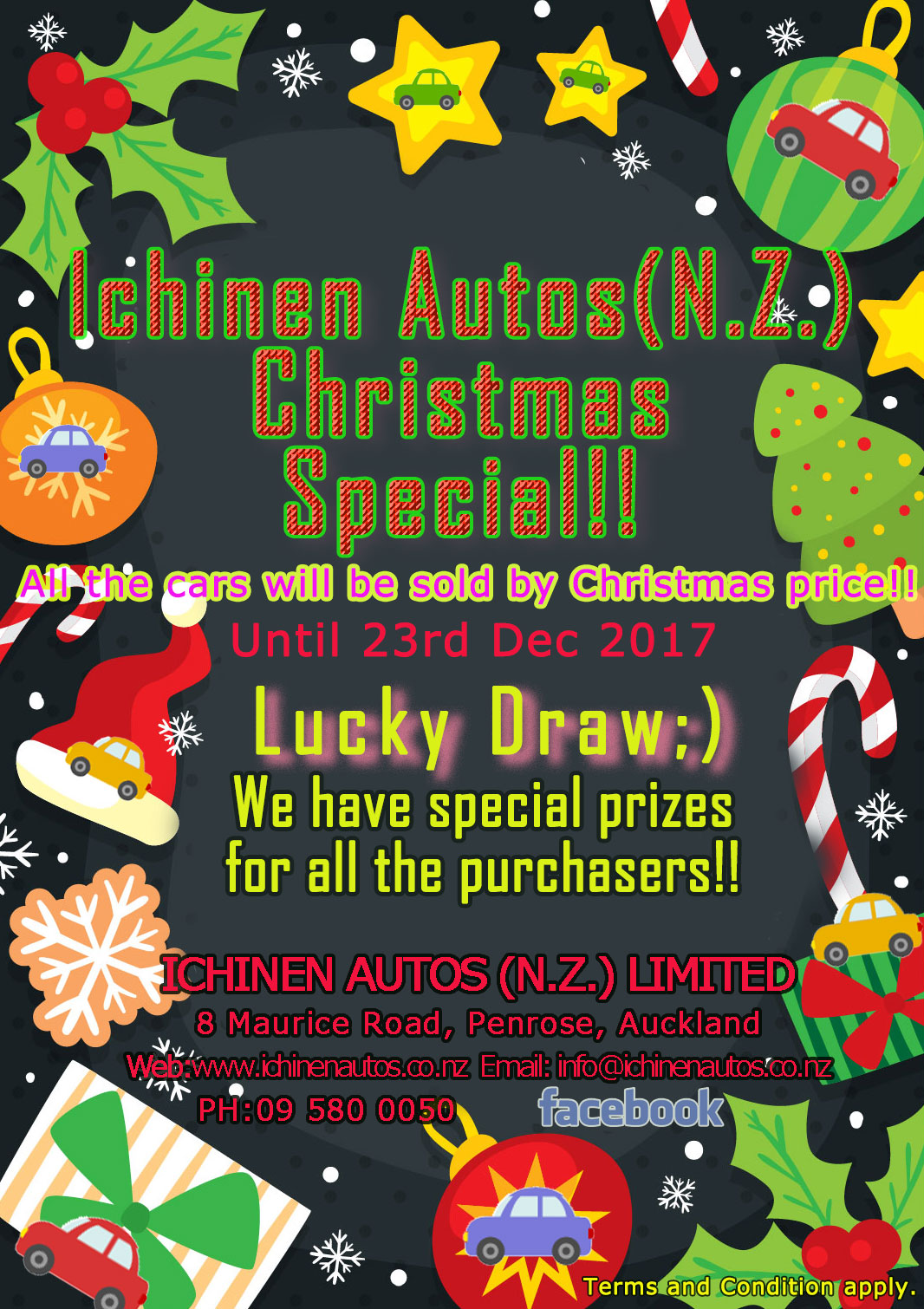 ICHINEN CHRISTMAS SALE!!