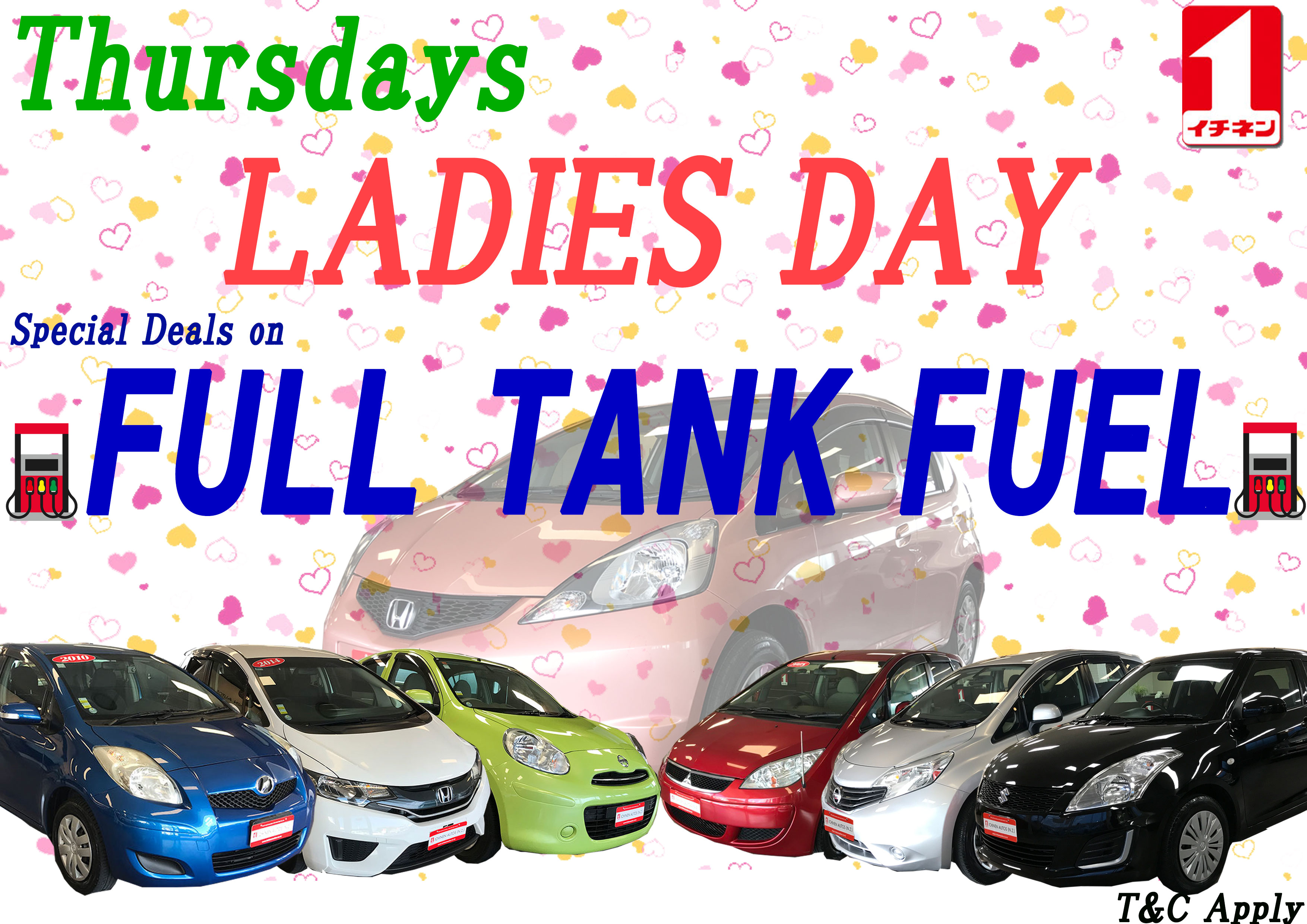 ♪\LADIES FULL TANK THURSDAY/♪